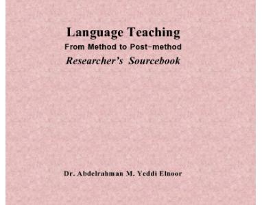 Language Teaching From Method to Postmethod A Sourcebook